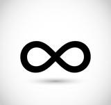 Infinity sign vector - 114042706