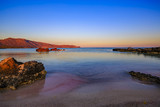 Sunset, Elafonisi beach, Crete, Greece