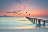 Fototapety Ruhe und Stille am Morgen am Strand