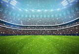 football Stadium background white team