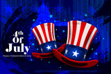 Fourth July, Independence day of America - 114072944