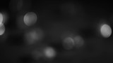 4K Steady Of Focus Circular Bokeh Black and White On Flicker