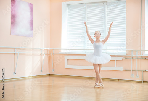 Young ballet dancing student at a class  © Andrey Bandurenko
