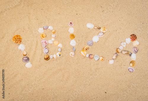 Ibiza Spanien Sommer Strand Urlaub