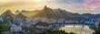 Quadro Panoramic view of Rio De Janeiro, Brazil landscape