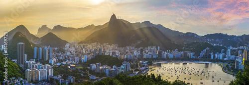 Papiers peints Rio de Janeiro Panoramic view of Rio De Janeiro, Brazil landscape