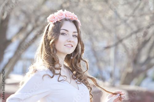 Zdjęcia na płótnie, fototapety, obrazy : spring girl