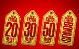 Golden take an extra bonus coupons