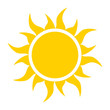 yellow sun icon