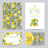Save the Date - Wedding Invitation or Congratulation Card Set