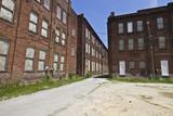 Urban Automotive Blight - Abandoned Automotive Factory - Worn, Broken and Forgotten VII - 114275140