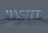 Master, 3D Typography