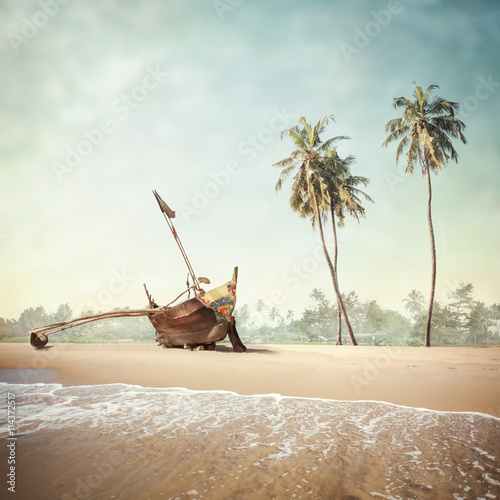 tropical background - 114372517