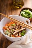 Asian cuisine chicken salad