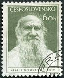 CZECHOSLOVAKIA - 1953: Russian writer Lev Nikolayevich Tolstoy