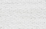 White brick wall background - 114401540