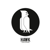 Haluk animal icon. Bird design. Vector graphic
