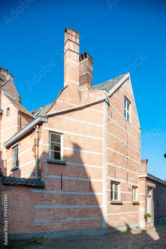 Keuken foto achterwand Antwerpen Belgium, Antwerp, Begijnhof - Beguinage