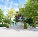 Belgium, Antwerp, Koning Albert I, monument der gesneuvelden