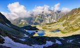 Tatras mountain lake in Slovakia