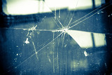Broken Glass Vintage Background - 114499907