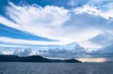 瀬戸内海 夏の空と雲