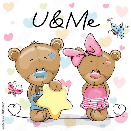 mata magnetyczna Two Cute Bears
