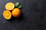 Fresh ripe oranges - 114546786
