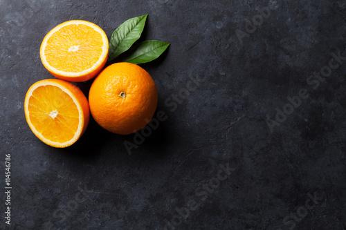 Świeże dojrzałe pomarańcze