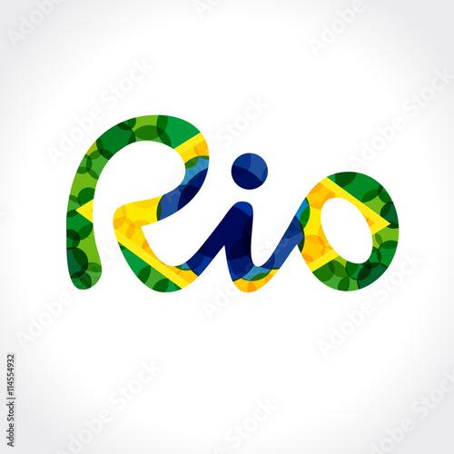 Poster Welcome to Rio de Janeiro banner