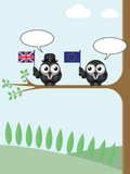 Blank talk UK exit negotiations with the European Union