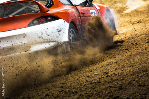 Cars on the autocross. - 114574505