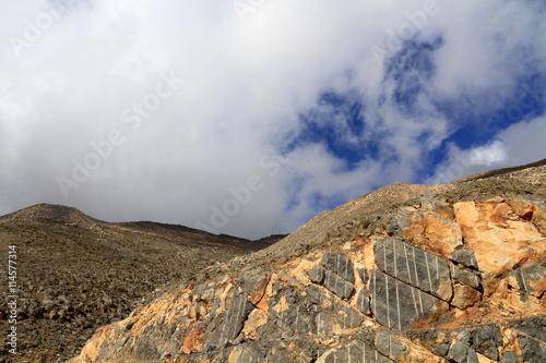 Plakát Nejvyšší hora v Spojené arabské emiráty, Jebel Al Jais