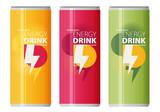 Energy drink design over white background, vector illustration.