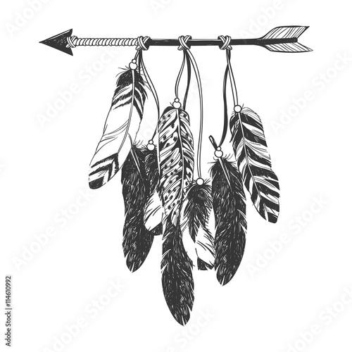 indianer-dreamcatcher-mit-federn