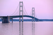 Mackinac suspension bridge