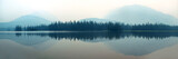 Foggy mountain lake - 114619326