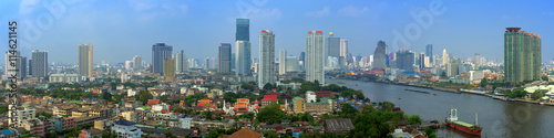 obraz PCV Bangkok city view panorama