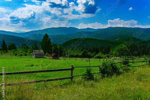 mountains in Carpathians