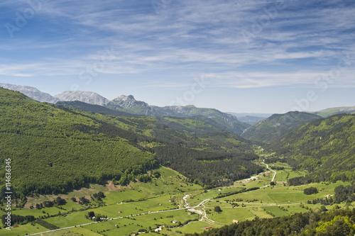 Esplendor en el valle del Roncal en Navarra