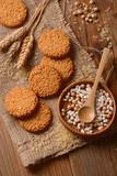biscotti ai cereali e riso