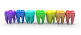 Colorful teeth - 114696552