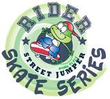 Frog Skater Cartoon