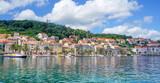 Korcula island in Croatia, Europe. Summer destination - 114708142