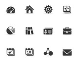 A set of universal web icons.