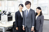 portrait of asian businessteam in office