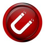 Magnet icon illustration