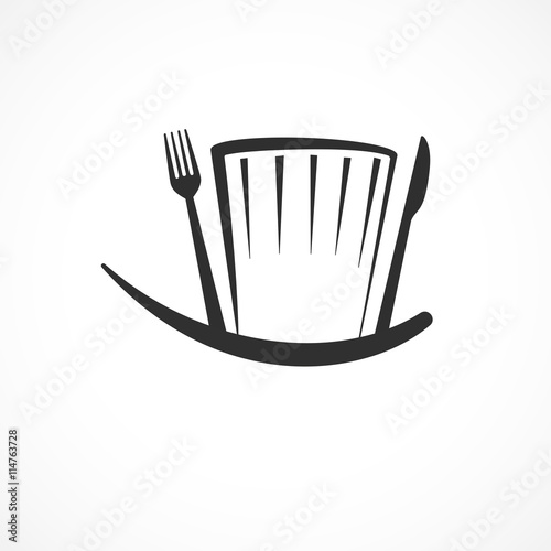 toque,chef cuisiner concept