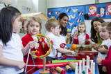 Fototapety Noisy Nursery Lesson