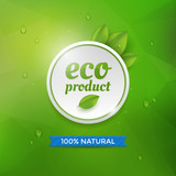 Eco product label